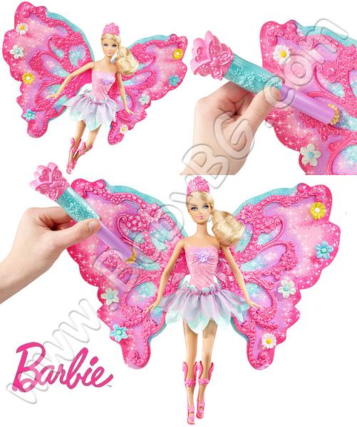 Barbie барби фея с крила w4469