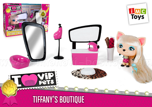 imc toys i love vip pets   tiffany boutique 711211