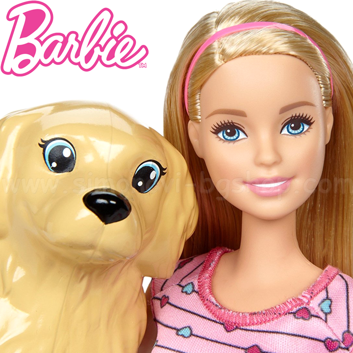 Barbie Newborn Pups Барби с нововородени кученца