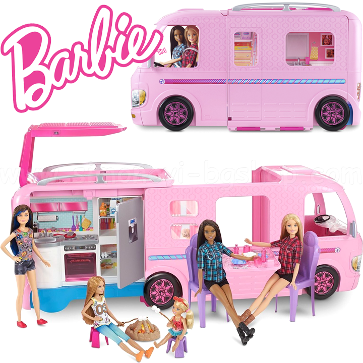 Кемпер Barbie FBR34
