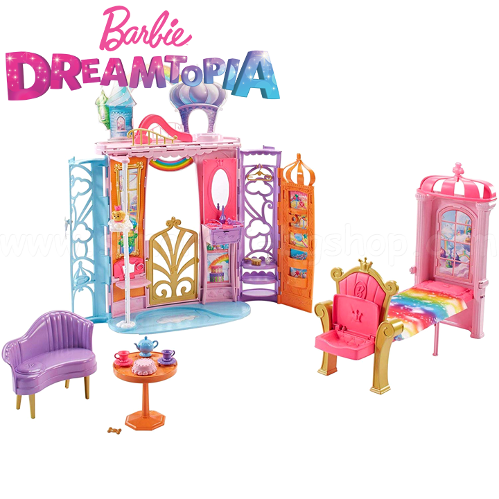 BARBIE Замък DREAMTOPIA RAINBOW COVE FTV98