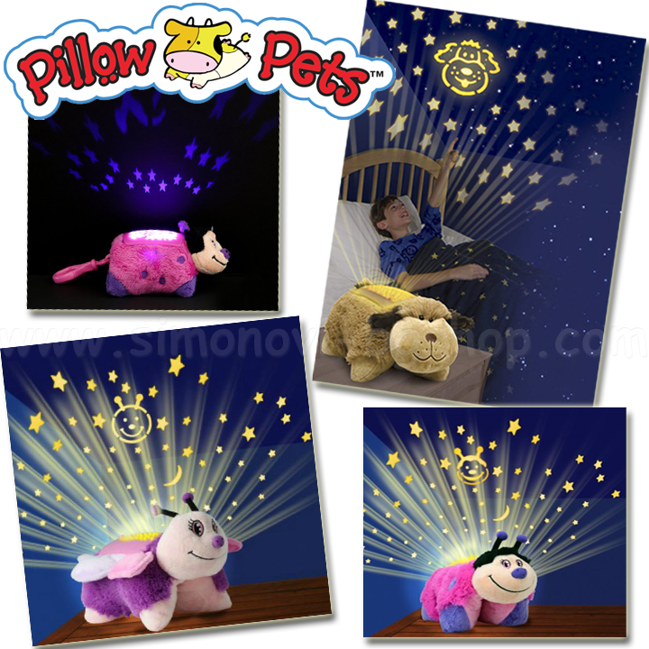 *Pillow Pets  Нощна лампа Mini Dream Lit