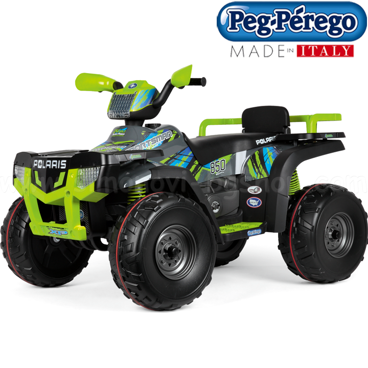 Peg Perego Polaris Sportsman Lime 12V