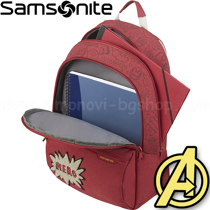 Samsonite Детска раничка размер L Color Funtime Disney Avengers Doodle