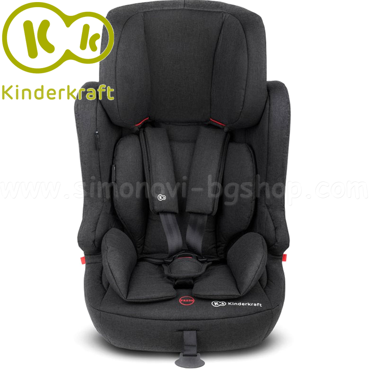 22235 kinderkraft fix2go izofix black столче за кола 9-36кг
