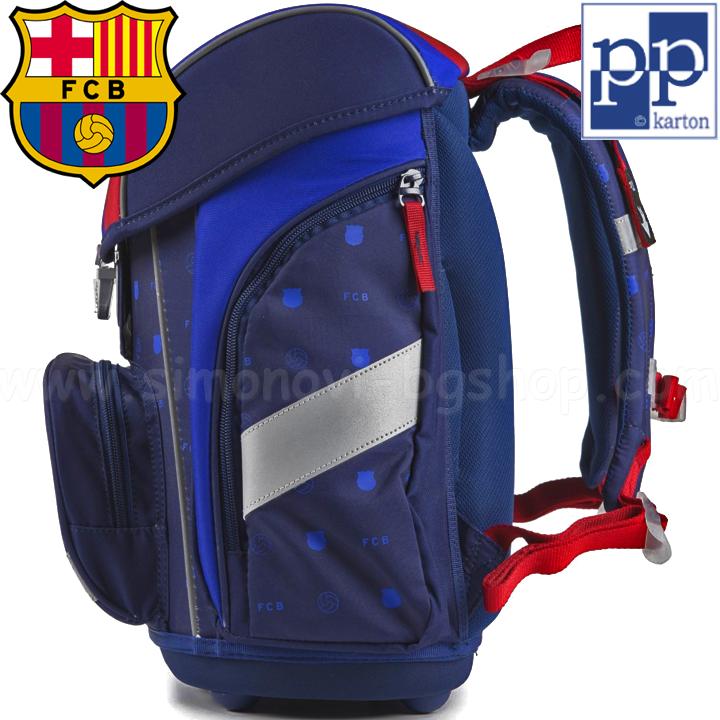 e7d8dd6900e FC Barcelona Ергономична ученическа раница Premium Cool 7-63918 ...