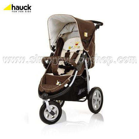 Hauck - Количка 3 в 1 Viper Pooh Doodle Brown 2012