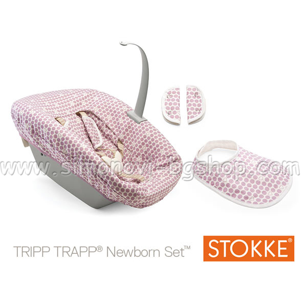 Stokke New Born Set за столче Tripp Trapp Pink Детски