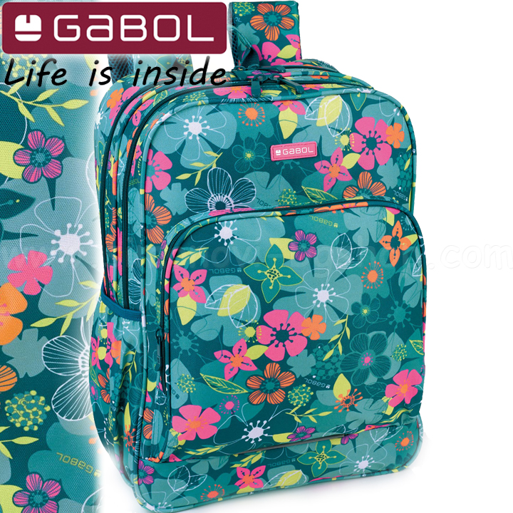 9800b91d4ad Gabol Aloha Ученическа раница с две отделения 22480099 Детски ...