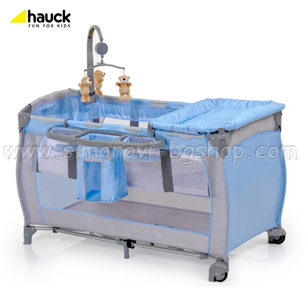 Hauck - Кошара Babycenter Blue 2012