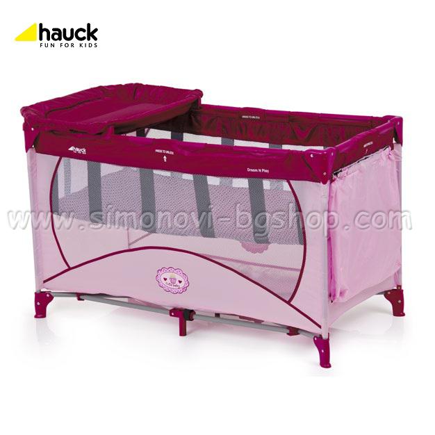 Hauck - Кошара за сън и игра Dream'n Play Cute Baby 2012