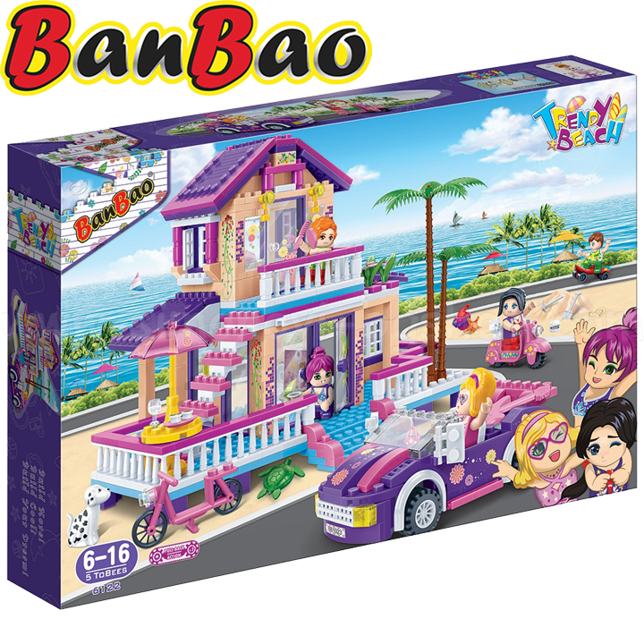 BanBao Trendy Beach Designer Beach House B6122