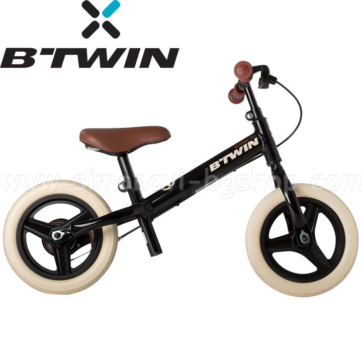 b6404b3b16d B'TWIN Детско колело за балансиране Run Ride 10'' Black 938717