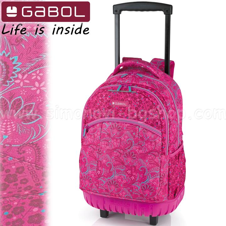 37839a3068 2017 Gabol School backpack trolley Style 219 547