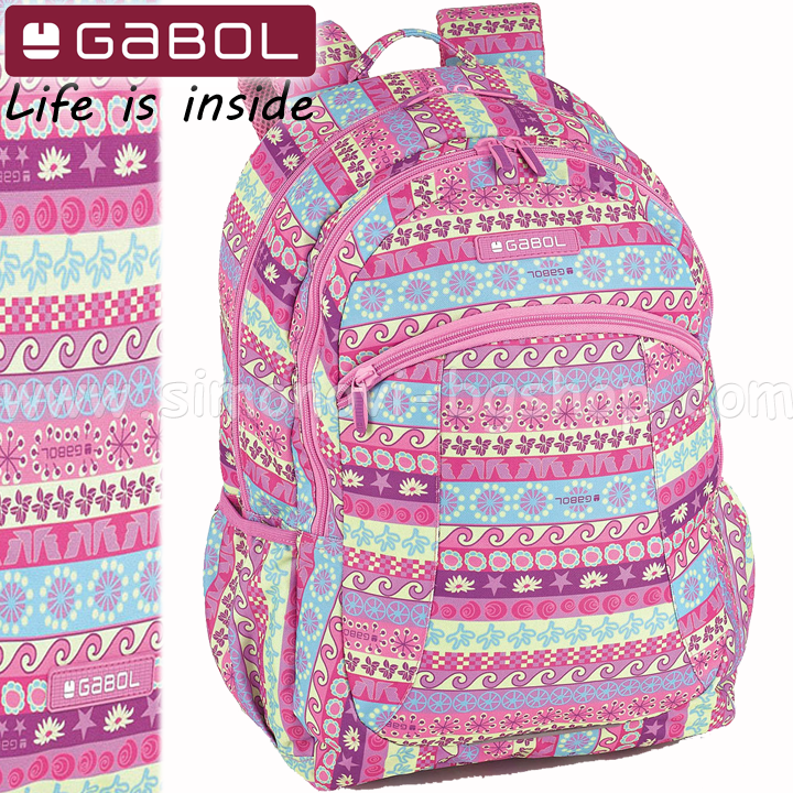 cb269a80e6 Gabol Nice backpack with two compartments 21969699