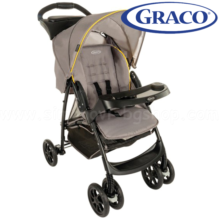 2016 GRACO Cart MIRAGE PARENT TRAY Yellow Gray