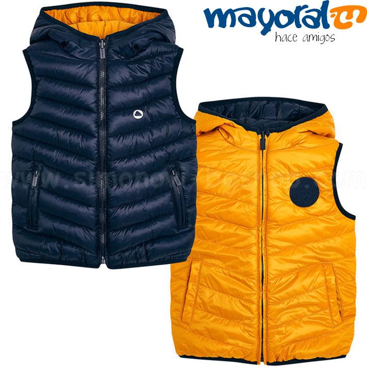 5ee62871ef0 Mayoral Boys Детски ватиран елек с две лица 18-04466-057 (2-