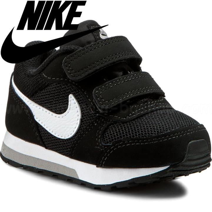 2e9cc9a48f8 Nike Бебешки маратонки MD Runner 2 Black/White Wolf Grey 806255 ...