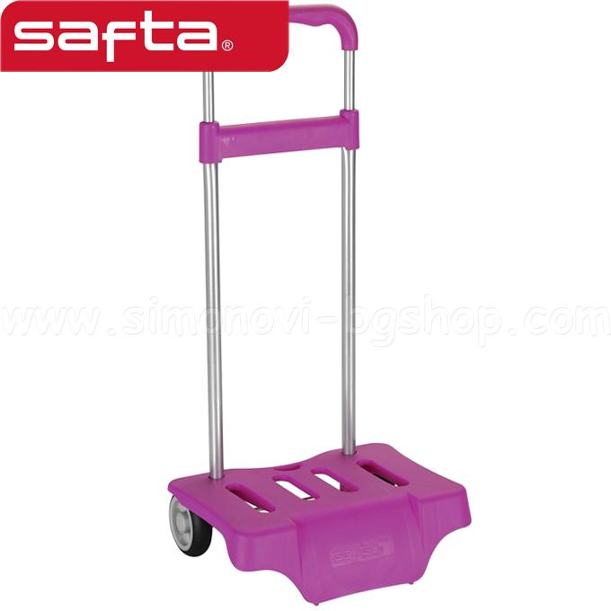 882c640da27 2015 Safta - Тролей за раница с дръжка Fuchsia