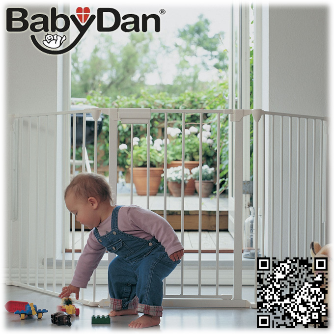 Babydan Configure Gate Xxl White Babydan Large Configure