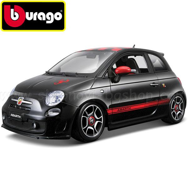 Bburago Gold Collection Fiat Abarth 500 18-12078 Simonovi