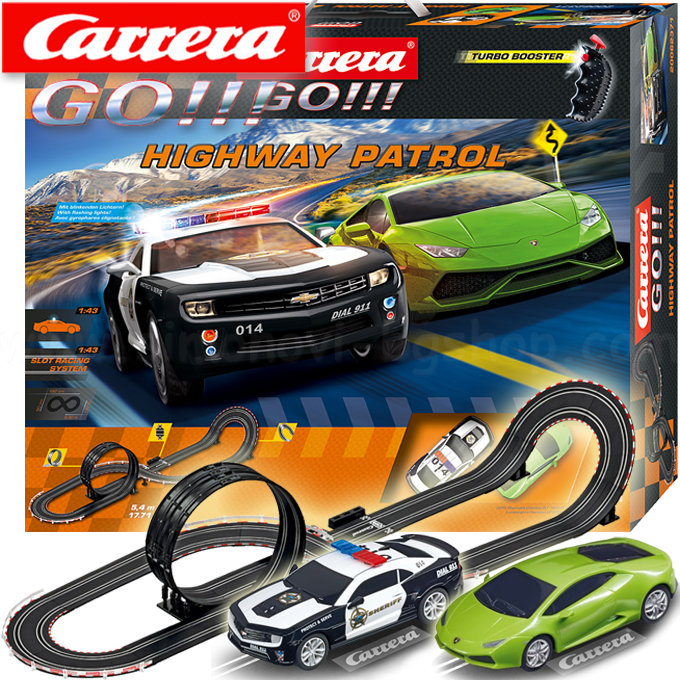 Amazon.com: Customer reviews: Carrera GO!!! Highway Patrol ...