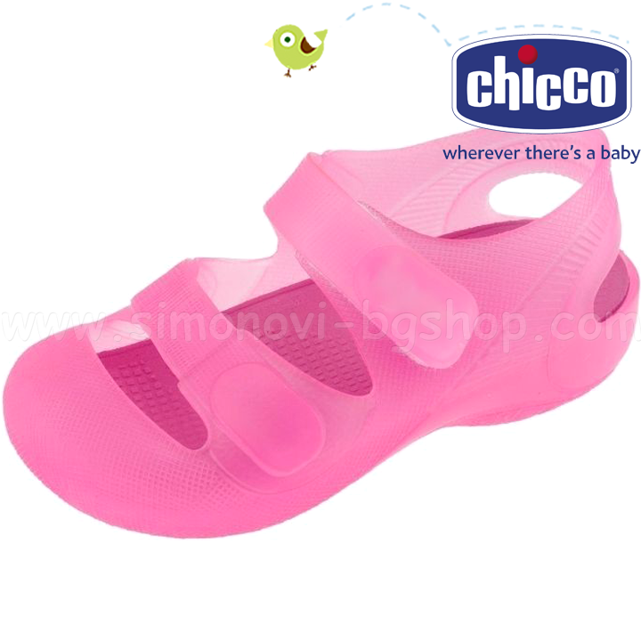 Chicco Силиконови сандали за плаж Moss Pink 45763 100 23