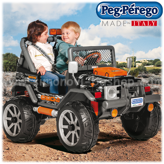 peg perego gaucho jeep battery. Black Bedroom Furniture Sets. Home Design Ideas