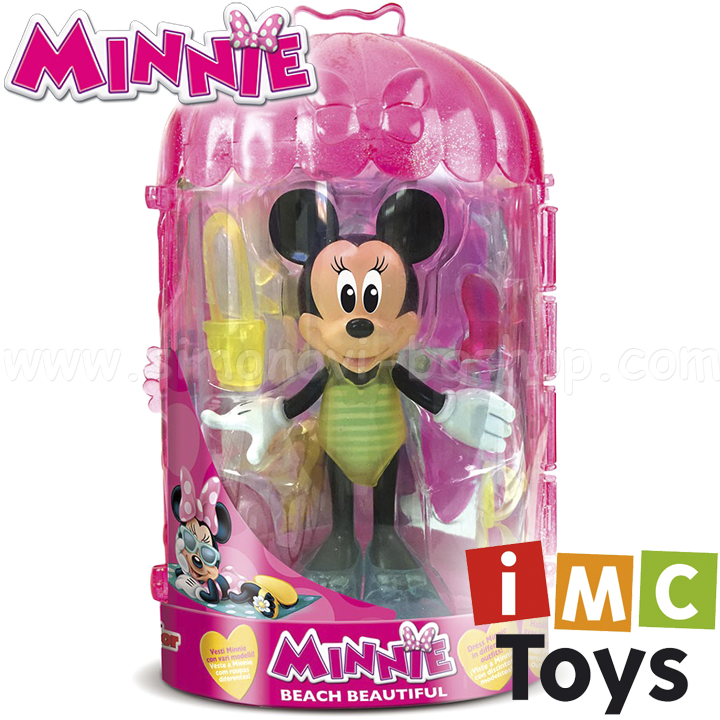 imc toys minnie mouse deluxe figurine minnie mouse beautiful 182011 simonovi bg shop
