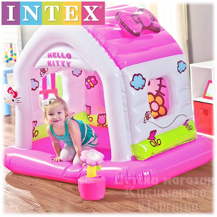 2c80fe89fd3 *Intex Hello Kitty Надуваема детска къща за игра 48631