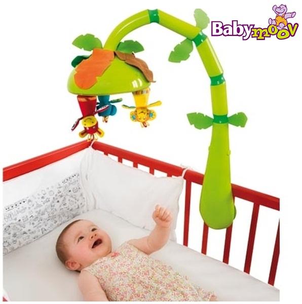 Как сделать мобиле в детскую кроватку