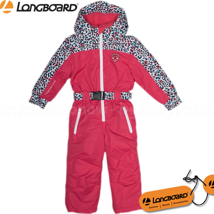ce57fd336b7 Longboard Детски ски гащеризон за момиче LBoard Pink 69655-1