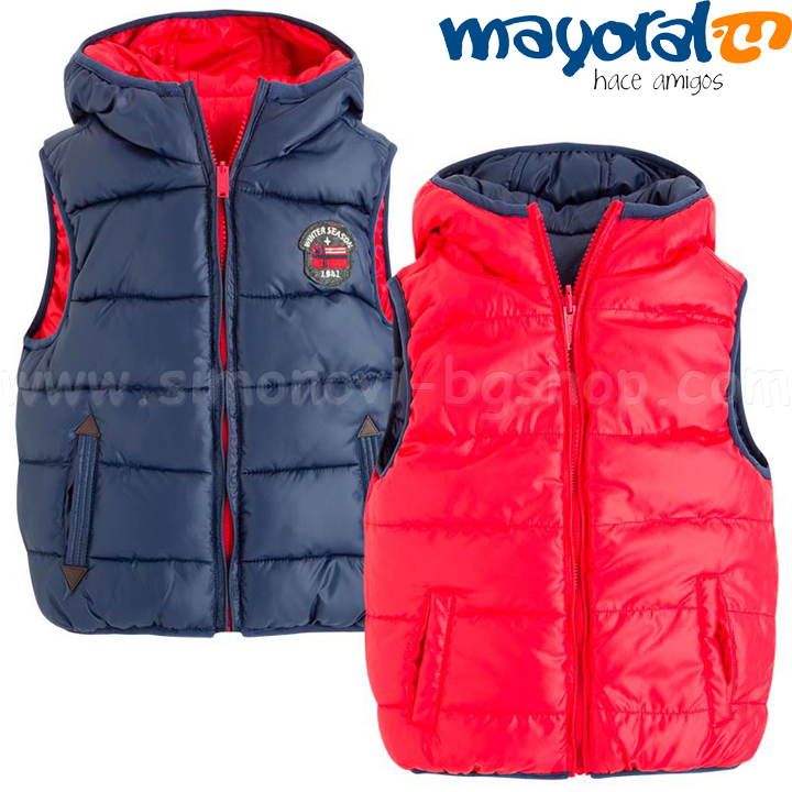 d6b6fc1d952 *Mayoral Boys Детска зимна грейка с две лица 4423