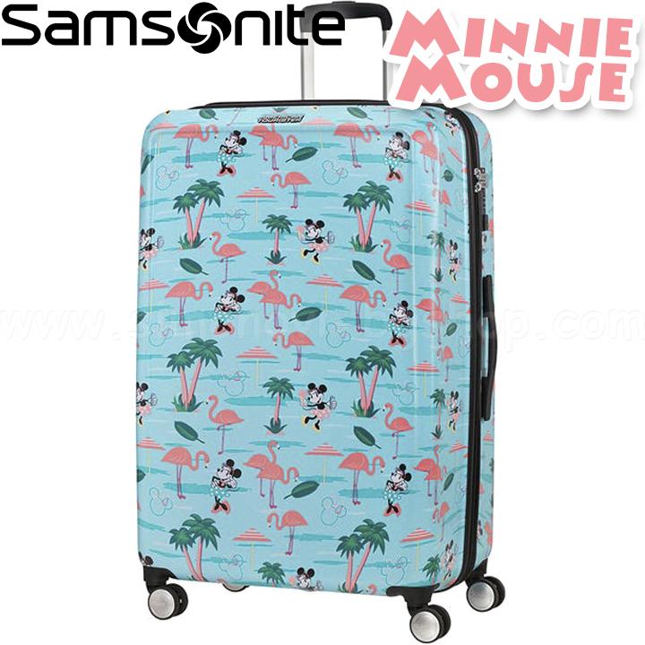 9257f2b6ba9 Samsonite Funlight Disney Куфар 77см Minnie Miami Beach 48C.21.003