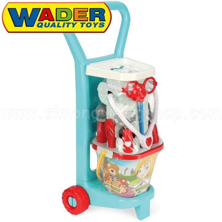 Wader Toys Количка с лекарски комплект 10775 Детски